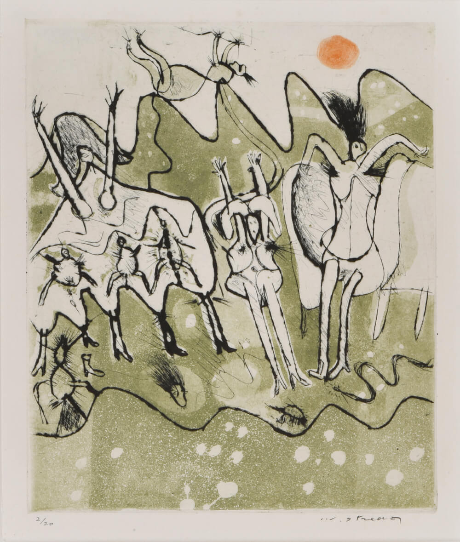 2021年3月19日から開催の「池田 満寿夫 版画展」の池田 満寿夫の作品2