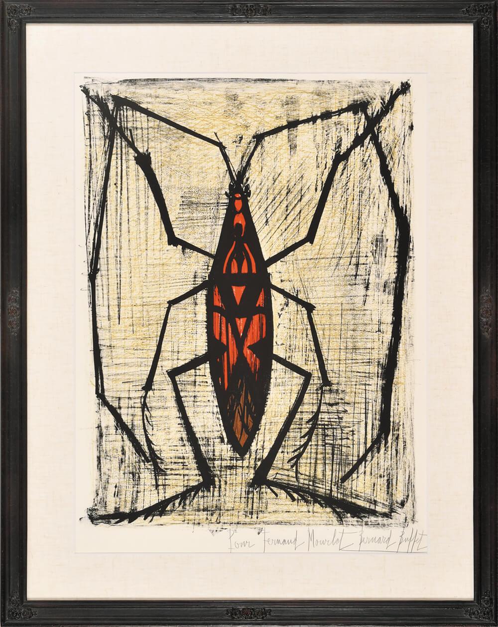 2021年6月25日から開催の「ベルナール・ビュッフェ 版画展」の作品画像2
