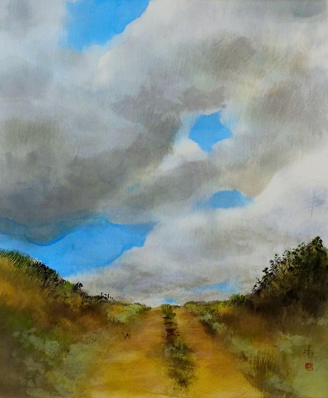2021年10月22日から開催の「私の庭 牧野 環 日本画展」の作品画像1