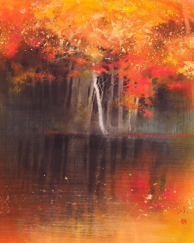 2021年10月22日から開催の「私の庭 牧野 環 日本画展」の作品画像3